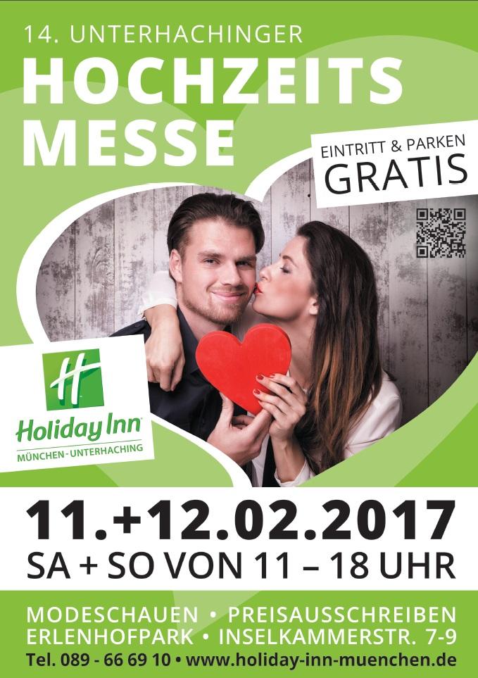 Hochzeitsmesse Holiday Inn Unterhaching 2017