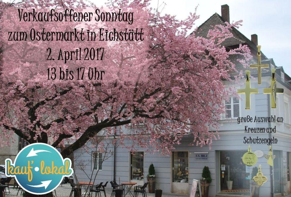 Verkaufsoffener Sonntag – Ostermarkt 2017 –