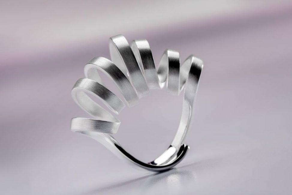 Bastian / Ring / Silber / Mattiert