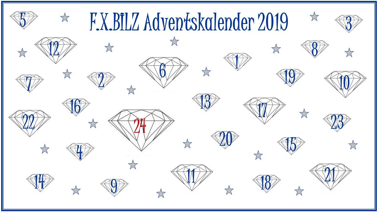F.X.BILZ Social Media Adventskalender 2019